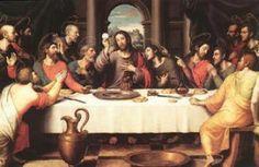 Que designações tem a ceia de Jesus e o que significam?