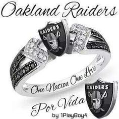 Oakland Raiders... David I want this!!!