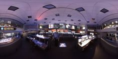 An equirectangular image taken of JPL Mission Control for use in 360 virtual environments. Mission Control, Image