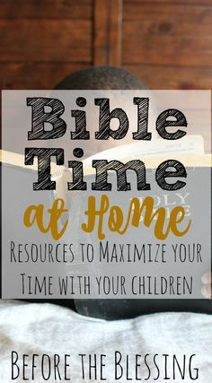 This is a great list of resources that will help start conversations with your kids about what God's Word says in everyday life.