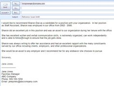 http://jobsearch.about.com/od/jobsearchemailsamples/ig/Email-Message-Examples/Email-Reference-Letter.htm