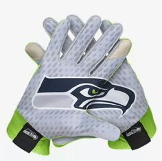 NWT Nike text on Seattle Seahawks gloves Sz L Brand new with tags Guaranteed Authentic Text on capabilities Nike Accessories Gloves & Mittens
