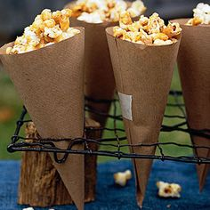 Caramel popcorn recipe.