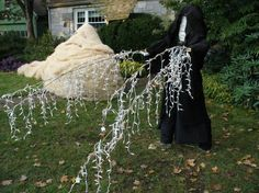 Star Wars scarecrow…