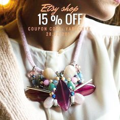15% off fashion accessories  fashion accessories, gemstone necklace, handmade necklace