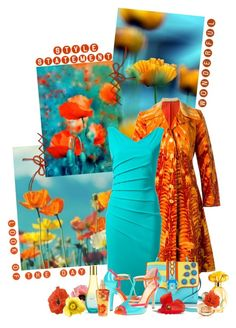 """""""Bright Spring"""" by sagramora ❤ liked on Polyvore featuring Roberta Di Camerino, La Petite Robe di Chiara Boni, Paula Cademartori, Isolá, The Body Shop, GUESS and Victoria's Secret"""