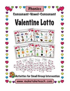 FREE CVC Valentine Lotto Game!