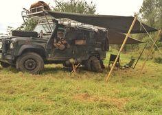 Land Rover & Canvas Tarps