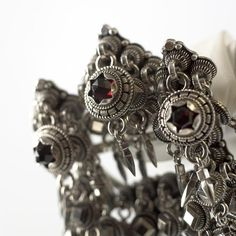 Hilde Nødtvedt - Filigree and Traditional Norwegian Jewelry Silver Earrings Online, Silver Hoop Earrings, Silver Jewelry Cleaner, Filigree Jewelry, Jewellery, Thinking Day, Red Garnet, Pattern Mixing, Cufflinks