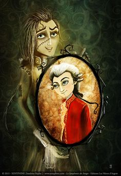 Don Giovanni and Mozart - La Symphonie des Songes by senyphine.deviantart.com on @DeviantArt