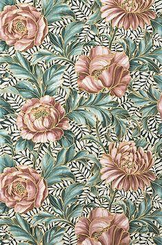 Tapet Penelope Paisley Wallpaper, Home Wallpaper, Pattern Wallpaper, William Morris Tapet, Pattern Art, Print Patterns, Armoire Redo, Arabic Calligraphy Art, Inspirational Wallpapers