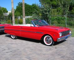 When I get behind the wheel, I'm really the one in charge.  No power steering.  No power breaks.  Only AM radio.  my 1963 Ford Falcon Convertible