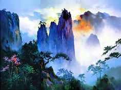 ........ HONG LEUNG ........ 5/14/1933- ....... . Landscape Paintings by Hong Leung <3 <3