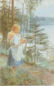 Akseli Gallen Kallela - Tyttomets
