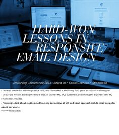Hard-Won Lessons In Responsive Email Design