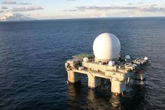 SBX of the US Ground-Based Midcourse Defense System.