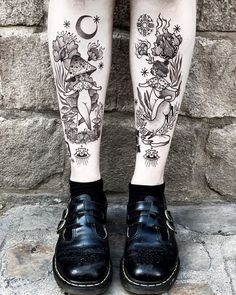 ✔ Women Tattoo Leg Design - ✔ Women Tattoo Leg Design Informations About - Simple Tattoos For Women, Sleeve Tattoos For Women, Unique Tattoos, Cute Tattoos, Body Art Tattoos, Girl Leg Tattoos, All Tattoos, Sexy Tattoos, Tribal Tattoo Designs