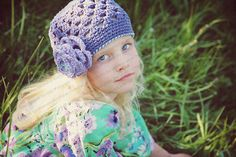 Beanie Hat Crocheted The Gianna Country by SparkleberryCrafts, $22.00