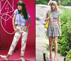 Do we even need to elaborate here? Taylor Swift, Kim Kardashian, Jennifer Lawrence. Who doesn't love a crop top?!