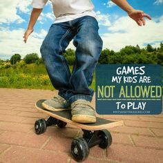 Kids Safety There are certain games my kids are not allowed to play --- and for good reason! Sharing those today to warn others! - There are certain games my kids are not allowed to play --- and for good reason! Sharing those today to warn others! Kids And Parenting, Parenting Hacks, Parenting Articles, Parenting Styles, Baby Nursery Furniture, Preparing For Baby, Before Baby, Baby Massage, All Family