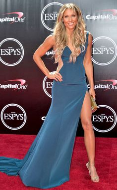 Lolo Jones from 2016 ESPYs Red Carpet Arrivals  The track and field star shows off the legs that have brought her this far.