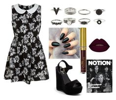 """""""Untitled #14"""" by kakamm on Polyvore featuring Mela Loves London and Lipstik"""