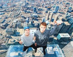 On top of the world.Jonah Marais and Daniel Seavey! Why Dont We Band, Chicago Shows, Jonah Marais, Thing 1, Zach Herron, Corbyn Besson, Jack Avery, Future Boyfriend, Top Of The World