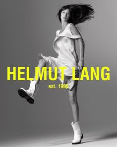 Bella Hadid Shows Off Her Moves in Helmut Lang Spring 2020 Campaign Bella Hadid, Hannah Murray, Helmut Lang, Restaurant Logo, Saint Laurent, Campaign Fashion, Img Models, Advertising Campaign, Jennifer Lopez