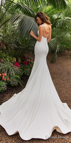 Sexy 2019 Mermaid Beach Wedding Dresses Sheer Back Beaded Cap Sleeve Wedding Gowns – Nederland mode Mermaid Beach Wedding Dresses, Sheer Wedding Dress, Wedding Gowns With Sleeves, Fit And Flare Wedding Dress, Backless Wedding, Dream Wedding Dresses, Bridal Dresses, Crystal Wedding Dresses, Ball Dresses