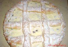 Kulatý tvarohový koláč