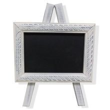 This mini chalkboard easel by Ashland is perfect to add a retro flair to your table setting. You can use it to leave notes or loving messages for your kids. It will be a great addition to your dining