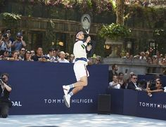 The launch of Rafael Nadal as the face of Tommy Hilfiger Bold; exclusive to The Fragrance Shop. Tommy Hilfiger Perfume, New Underwear, Tommy Hilfiger Fashion, Tennis Match, Bryant Park, Rafael Nadal, Celebrity Style, Fragrance, Product Launch
