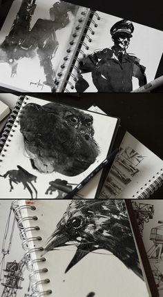 Digital ink brushes by jamajurabaev.deviantart.com on @deviantART