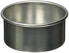 American Metalcraft 3806 Cake Pans, 6.45 Length x 6.45 Width, Silver -- Remarkable discounts available  : Baking pans