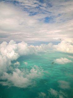 agua... nublada