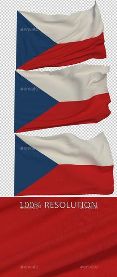 Hello Everyone. This is my new Flag of The Czech Republic. Hope you find it useful! 3 PNG images with Alpha and 3 copy in low res
