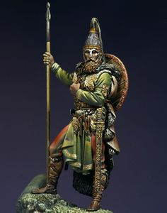 Slavic Warrior, VII century A.D.