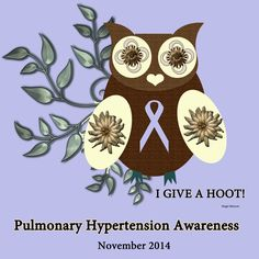 Pulmonary Hypertension Awareness Month - by AngelSharum, Persona Paper Days And Months, Pulmonary Hypertension, National Days, Persona, Ph, November, Gems, Heart, Paper