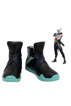 Valorant Jett Cosplay Shoes Cosplay Boots, Cosplay Wigs, Cosplay Costumes, Kuroo Tetsurou, Kenma, Jean Grey Phoenix, Calves, Ankle, Leather