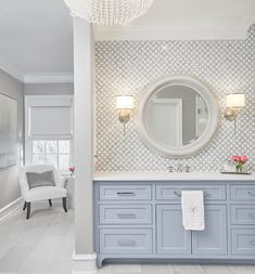 Y'all are loving our master bath remodel at so much that we thought we'd share more! This vanity was completely redesigned to accommodate more counter space. Bathroom Renos, Bathroom Interior, Small Bathroom, Master Bathroom, Bathroom Ideas, Master Bedrooms, Bathroom Remodeling, Remodeling Ideas, Single Sink Bathroom Vanity
