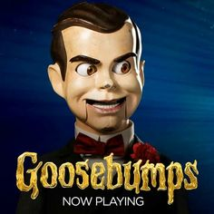 Slappy Goosebumps Movie 2015