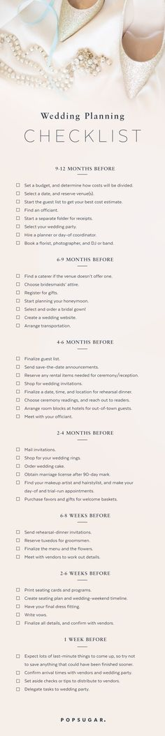 Download the Ultimate Wedding Planning Checklist!