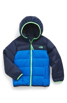 The North Face 'Moondoggy' Reversible Down Jacket (Toddler Boys & Little Boys) (Online Exclusive)