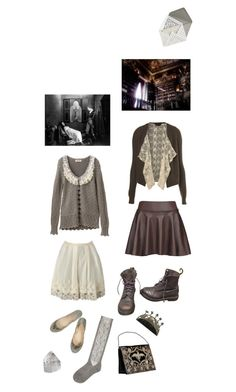 """""""Untitled #2041"""" by zoella ❤ liked on Polyvore featuring Martha Stewart, Miss Selfridge and Dr. Martens"""