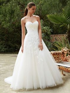 New at Uptown Bridal! Uptown Bridal & Boutique  www.uptownbrides.com Beautiful 2016, BT16-24 front view