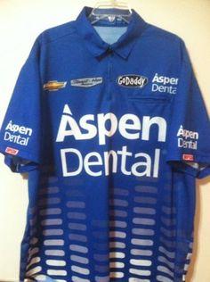 Danika Patric Stewart Hass 2014 Race Used Pit Crew Shirt Nascar Sprint Chevy