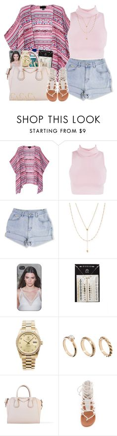 """Been in the drafts foreva"" by nasiaswaggedout ❤ liked on Polyvore featuring Jennifer Zeuner, GUESS, Rolex, ASOS, Givenchy and Jeffrey Campbell"