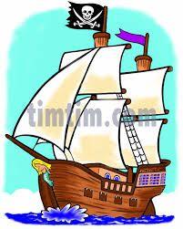 Hasil gambar untuk PIRATE SHIP CARTOON