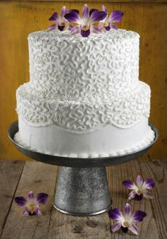 12.99 SALE PRICE! Accent any rustic theme with this galvanized metal cake and dessert stand. The pedestal is made of metal and features a simple profile that...
