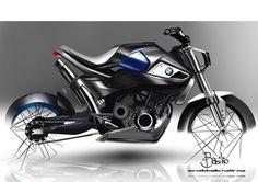 BMW Motorcycle design on Behance